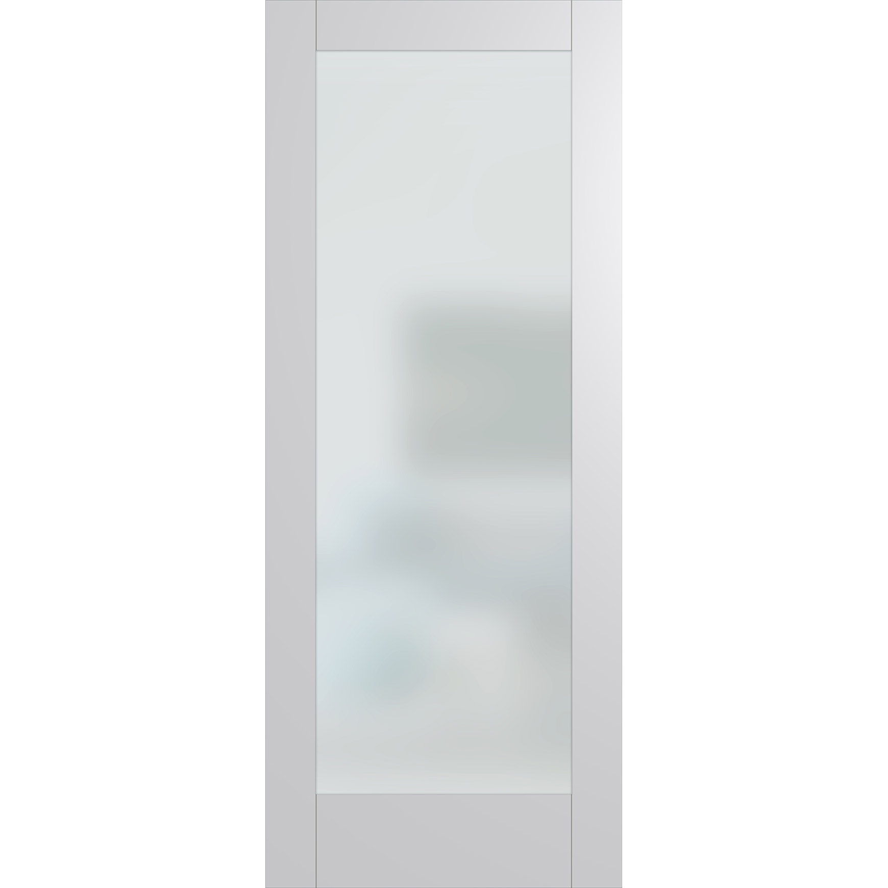 Hume Doors HAM1 White Frost