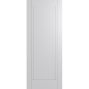 Hume Doors HAM12 White Inlay