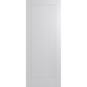 Hume Doors HAM16 White Inlay