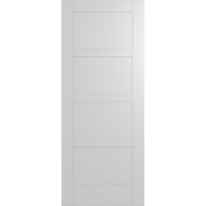Hume Doors HAM4 White Inlay