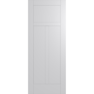 Hume Doors HAM5 White Inlay