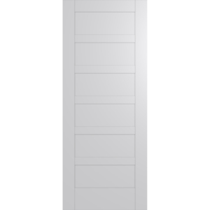 Hume Doors HAM6 White Inlay