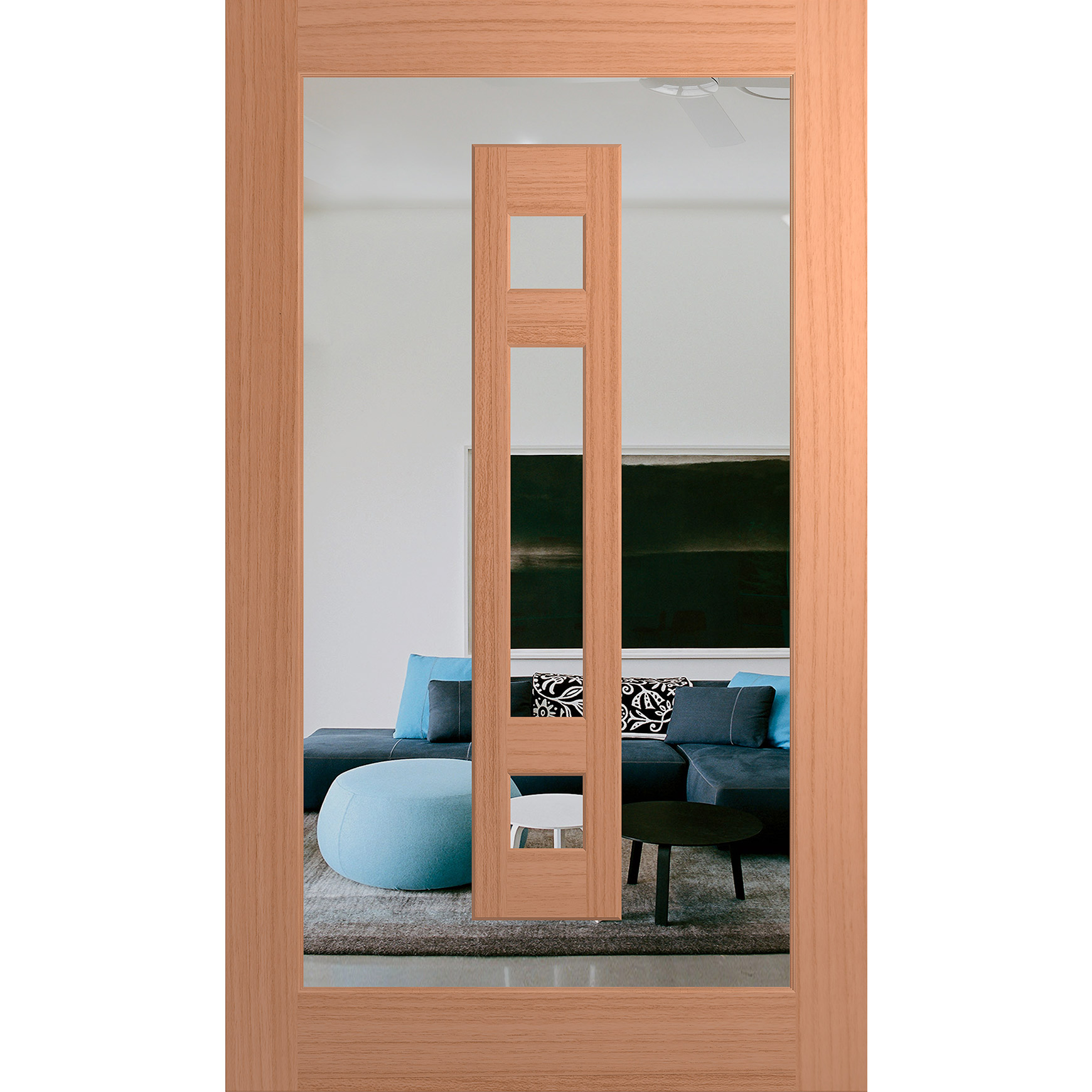 Hume Doors Illusion XIL23 SPM Clear