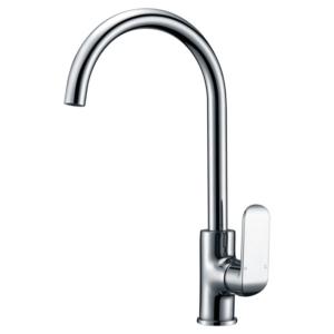 ikon kara gooseneck sink mixer chrome hyb11102