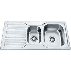 p&p eden one and a half kitchen sink pn980a rhb