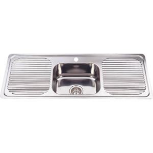 p&p ruby kitchen sink dh446s