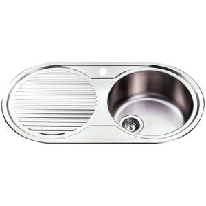 p&p ruby kitchen sink nh1500rhb